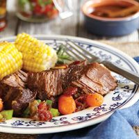 Texas Bodacious Pot Roast that will make your family cheer for #TexFest