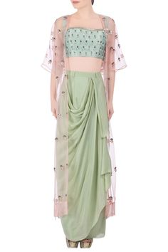 Latest Collection of Skirt Sets by Nidhika Shekhar