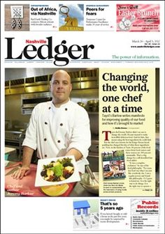One chef who made the change from fast food to local food