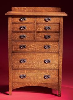 AW Extra - Stickley Style Chest of Drawers - Woodworking Projects - American Woodworker