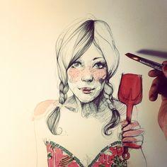paula bonet; instagram : http://instagram.com/p/YH2ma0MWE6/