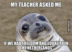 I am a foreign exchange student in the U.S from the Netherlands