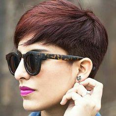 Ga het najaar in met een nieuwe look: 10 perfecte korte kapsels in mooie donkere kleuren. - Kapsels voor haar