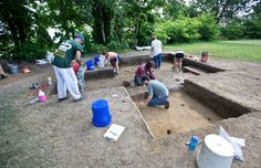 Searching for signs of a Powhatan Indian village lost in the early 1600s. http://bit.ly/29e5o1i -- Mark St. John Erickson