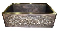 Cottage sink made of dark bronze with decorative apron front - ., farmhouse sink Cottage sink made of dark bronze with decorative apron front - . Best Christmas Presents, Christmas Mood, A Christmas Story, Bronze, Nickel Silver, Farmhouse Apron Sink, Belfast Sink, Apron Front Sink, Sink In