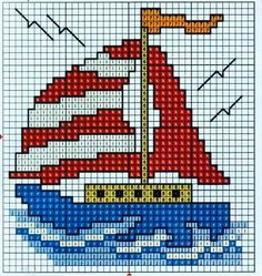 This Pin was discovered by Анн Cross Stitch Sea, Cross Stitch Cards, Cross Stitching, Cross Stitch Embroidery, Cross Stitch Designs, Cross Stitch Patterns, Tapestry Crochet, Hand Embroidery Patterns, C2c