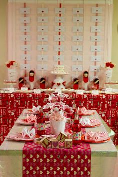 Valentine's Day or Hearts themed party