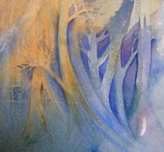 negative painting - Linda Kemp