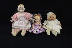 shopgoodwill.com: Lot of 3 Vintage Dolls