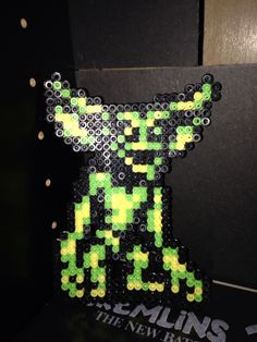 Gremlin I made out of perler beads.