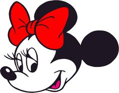 19 Best Photos of Minnie Mouse Silhouette Template Minnie Mouse ...