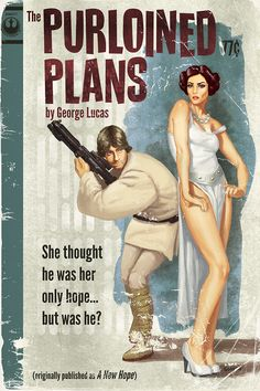 Star Wars Reimagined Pulp-Style
