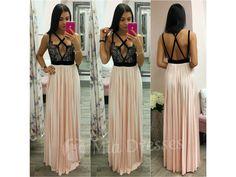 Spoločenské šaty s plisovanou sukňou NUDE - Mia Dresses Trendy, Backless, Nude, Women's Fashion, Formal Dresses, Skirts, Dresses For Formal, Skirt