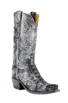Lucchese Since 1883 Python Print Boot (N4717)