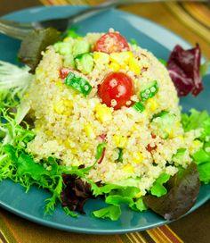 Quinoa Corn Salad #recipe