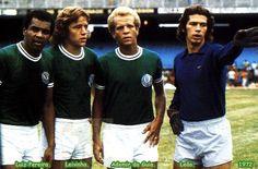 Luiz Pereira, Leivinha, Ademir e Leão (Palmeiras)
