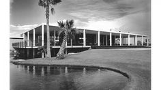 A new column featuring Modernism expert Robert Imber will focus on the architecture and design of the to the such as St. Theresa Catholic Church in Palm Springs. Palm Springs, Vintage Architecture, Architecture Design, Architectural Photographers, Famous Architects, Outdoor Sculpture, Mid Century Modern Design, House Front, Mid-century Modern