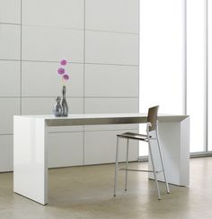 Tavola, bar height table