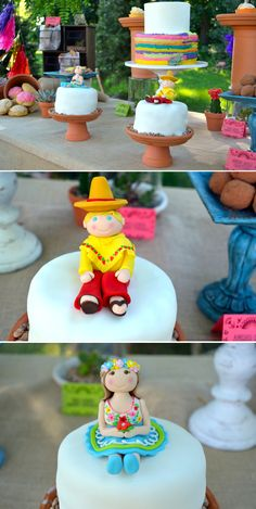 Sharing lots of details for a darling Fiesta 3rd Birthday Party full of colorful touches and a DIY cantina!