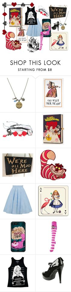 Alice In Wonderland by iamgrootiamgroot on Polyvore featuring Disney, Hot Topic, Olympia Le-Tan and Avenida Home
