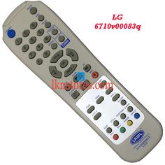 Buy remote suitable for LG Tv Model: 6710V00083Q at lowest price at LKNstores.com. Online's Prestigious buyers store.