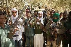 Con la incipiente inmigración árabe, las tribus darfurianas se vieron obligadas a armarse para proteger su territorio. Los janjaweed, armados por el gobierno, comenzaron la matanza de las tribus.