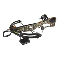 Barnett Quad 400 Crossbow Package (Quiver, 3 - 22-Inch Arrows and Premium Red Dot Sight) ,$323.95