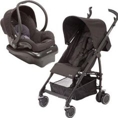Maxi Cosi Kaia and Mico NXT Travel System, Total Black -   - http://babyentry.com/baby/strollers/travel-systems/maxi-cosi-kaia-and-mico-nxt-travel-system-total-black-com/