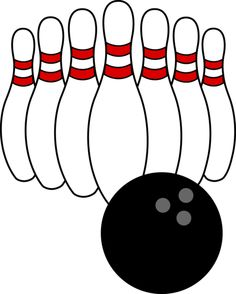 Bowling Club- Competitive club where the club bowls in tournaments against multiple universities and colleges from around the United States. Bowling Party, Bowling Pins, Bowling Shirts, Bowling Ball, Theme Sport, Cricut Craft Room, Pin Art, Scrapbook Embellishments, Party Activities