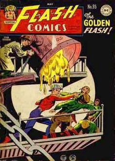 Flash Comics (Volume) - Comic Vine Dc Comic Books, Comic Book Covers, Comic Art, Flash Comics, Marvel Comics, Comic Superheroes, Superman Images, Justice Society Of America, Silver Age Comics