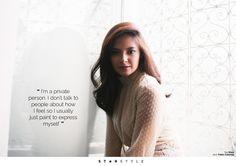 Age of Innocence featuring Bianca Umali - Star Style PH Filipina Actress, Book Fandoms, Losing Her, How I Feel, Star Fashion, Ph, Idol, Beautiful Women, Actresses