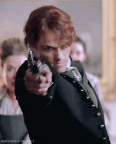 Jamie shoots Lord Ellsmere, (I think).