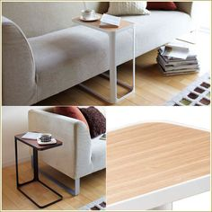 "La Lindo Rakuten Ichiba shop | Rakuten Global Market: Side table ""side table"" white / black / wooden / Shin pull / low / fashion / furniture / sofa side / slim / North Europe / frame / bed table / bed table / desk / level / mini-table / living / interior miscellaneous goods / fashion to be able to"