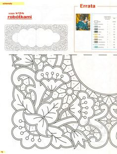 "ru / GWD - Альбом ""Richelieu scheme I"" Cutwork Embroidery, Embroidery Needles, Hand Embroidery Patterns, Vintage Embroidery, Quilt Patterns, Embroidery Designs, Lace Painting, Point Lace, Lace Making"