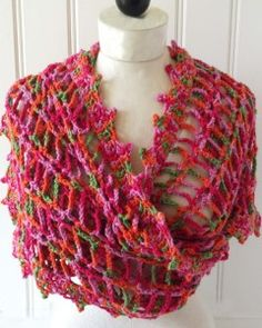 32 Best Scarves and shawls images in 2017 | Crochet shawl