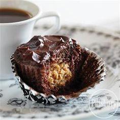 Double Chocolate Espresso Cupcakes from Pillsbury® Baking