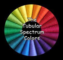 Tubular Spectrum Mercerized cotton yarn in 10/2, 5/2 and 20/2 from Lunatic Fringe Yarnes