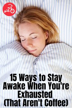 Moms are exhausted—rely on these tips, hacks and tricks to stay awake and avoid sleep deprivation. How To Get Sleep, How To Stay Awake, Beauty Tips Home Remedy, Beauty Tips For Glowing Skin, Red Tricycle, Homemade Beauty Tips, Sleep Deprivation, Mom Advice, Healthy Beauty