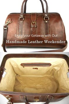 This high quality leather duffle will immediately become your favorite, and remain so for many years! Explore our entire collection of artisan handmade, high quality travel bags today! Thank you!