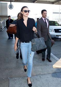 Miranda Kerr - Miranda Kerr Arrives in LA