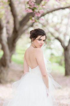 Wedding inspiration: Carol Hannah Xantha Springtime in NY