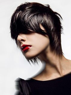 Pictures : Best Hairstyles for Fine Thin Hair with Bangs - Choppy Shag Haircut For Fine Hair Haircuts For Fine Hair, Older Women Hairstyles, Hairstyles With Bangs, Cool Hairstyles, Haircut Styles For Women, Short Haircut Styles, Hair Styles 2014, Long Hair Styles, Short Choppy Hair