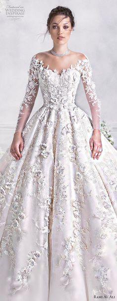 Rami Al Ali 2018 Wedding Dresses #bridalgown