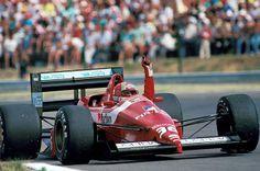 Alex Caffi - BMS Scuderia Italia - Dallara 188 gp_hungria_1988_001