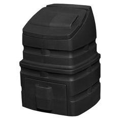 Good Ideas Inc Compost Wizard Standing Bin Black