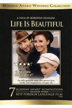Life is beautiful. Je pense que je n'ai jamais autant pleuré de ma vie pour un film.