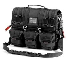 Computer Bag sports a plethora of straps, D-rings and removable pockets that are guaranteed to get looks; this durable nylon carrier is hard Oakley Backpack, Oakley Bag, Backpack Bags, Oakley Sunglasses, Sunglasses Outlet, Duffle Bags, Laptop Backpack, Tote Bags, Sunglasses Women