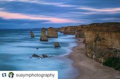 #Repost @susymphotography with @repostapp  Had a lovely weekend along with Great Ocean Road with some friends for a photography weekend. #greatoceanroad #greatoceanroadtrip #victoria #australia #12apostles #colour #beach #leefilters #slowshutter #weekendaway #portcampbell #visit12apostles by brinkksmusic