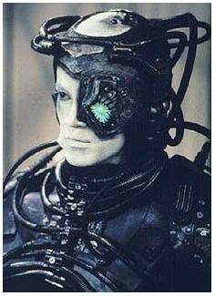 Jonathon Del Arco as Hugh the Borg from the episode I, Borg,1992. I had no idea he portrayed Hughe! I love him as Dr. Morales on Major Crimes!
