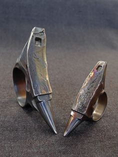 Anvil Rings by Basil Vorobiev (not for sale, but effin awesome)